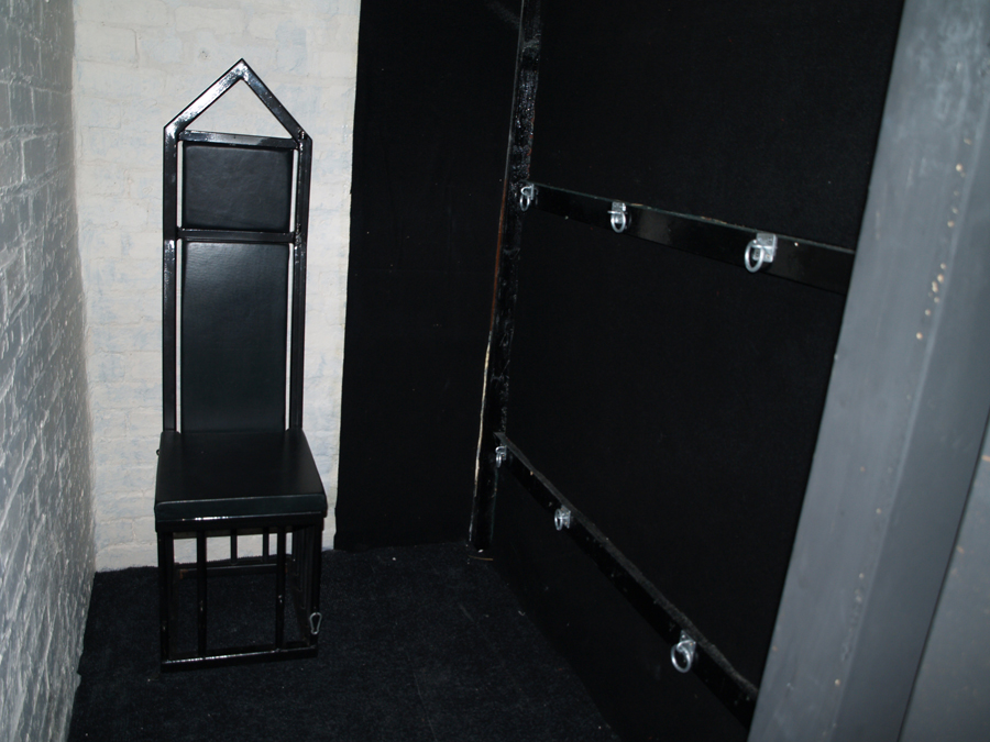 The Facility dungeon's isolation room, Birmingham, England